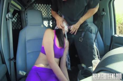 Miko Dai засунули в машину и жестко там отодрали связанную #2