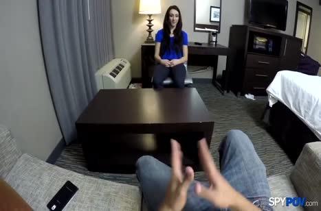 Mandy Muse на собеседовании пришлось поработать вагинкой #2