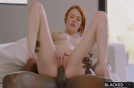 Рыженькая Bree Daniels красиво развлекается с черным #5