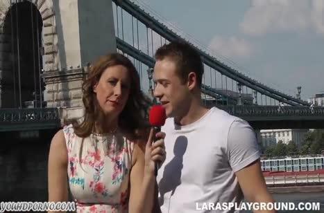 Репортерша Lara Latex всегда готова к сексу #1